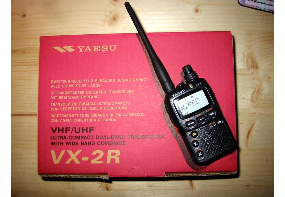 Yaesu vx 2 manual